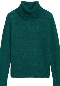 BANANA REPUBLIC•Merino-Blend Turtleneck Sweater/S